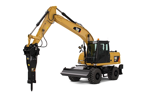 used wheel excavators